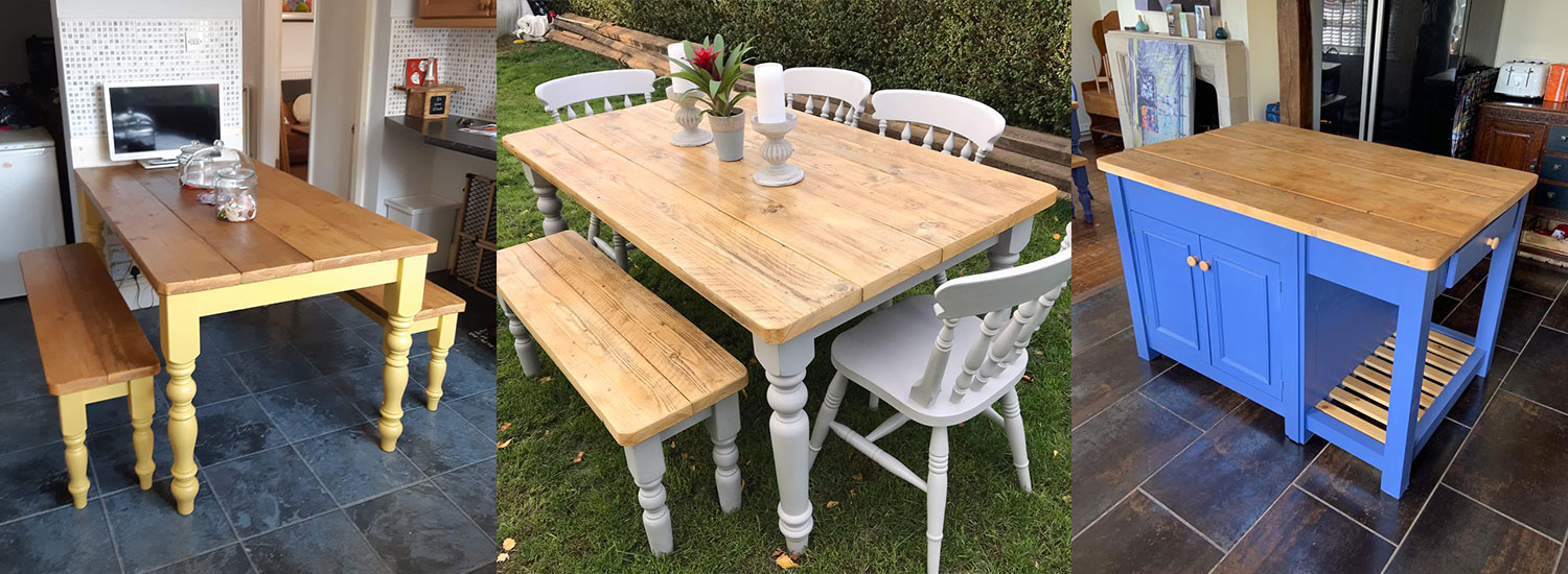 Hand Made Reclaimed Wood Furniture Makers