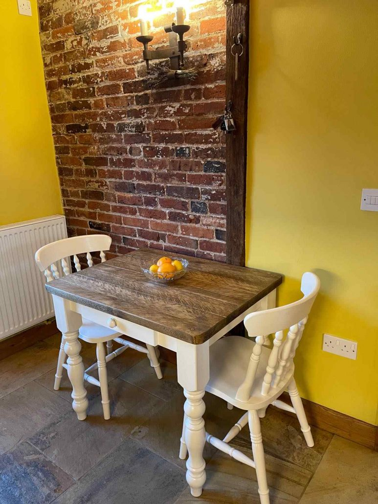 bespoke seater dining table solid wood