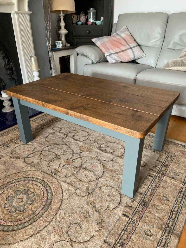 living room coffee table solid wood